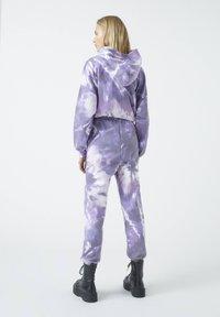 PULL&BEAR - Tracksuit bottoms - purple - 2