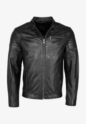 ROCHA - Leather jacket - black