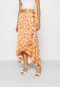 Fabienne Chapot - BOBO FRILL CATO SKIRT - Wrap skirt - pink - 0