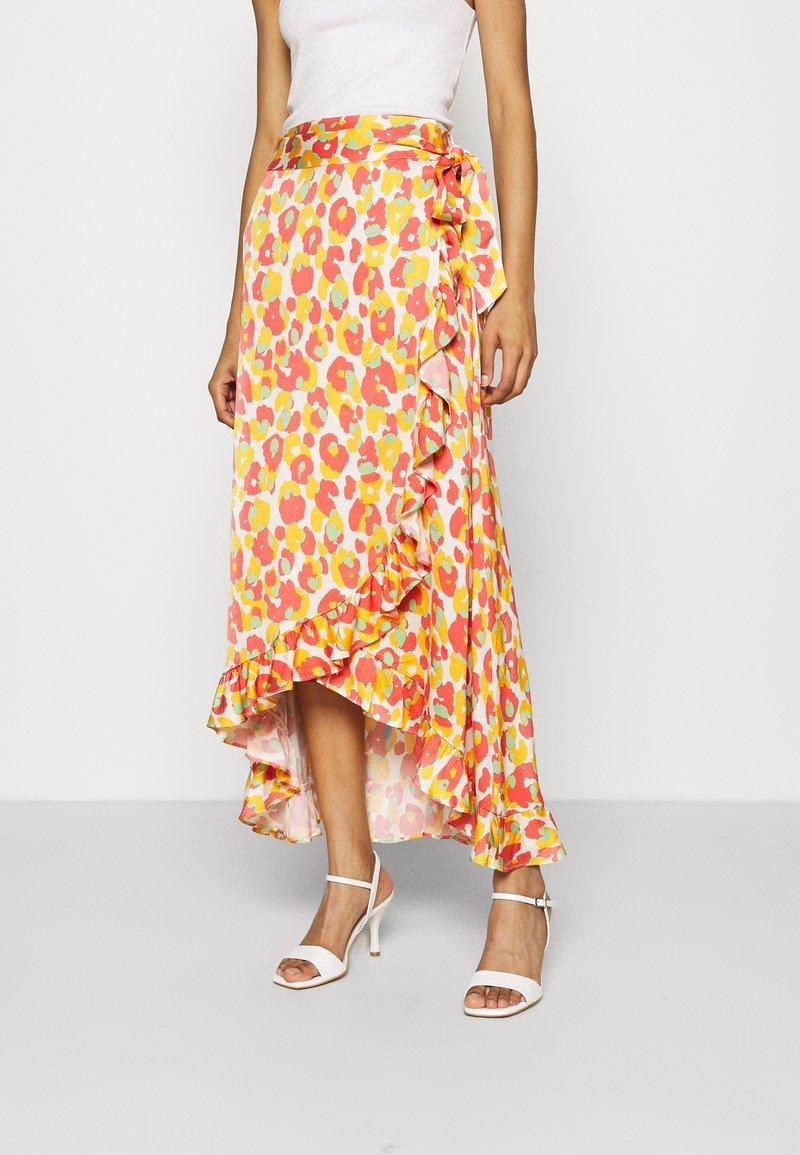 Fabienne Chapot - BOBO FRILL CATO SKIRT - Wrap skirt - pink