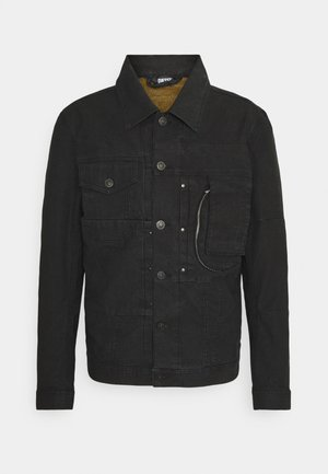 GIACCA - Denim jacket - black denim