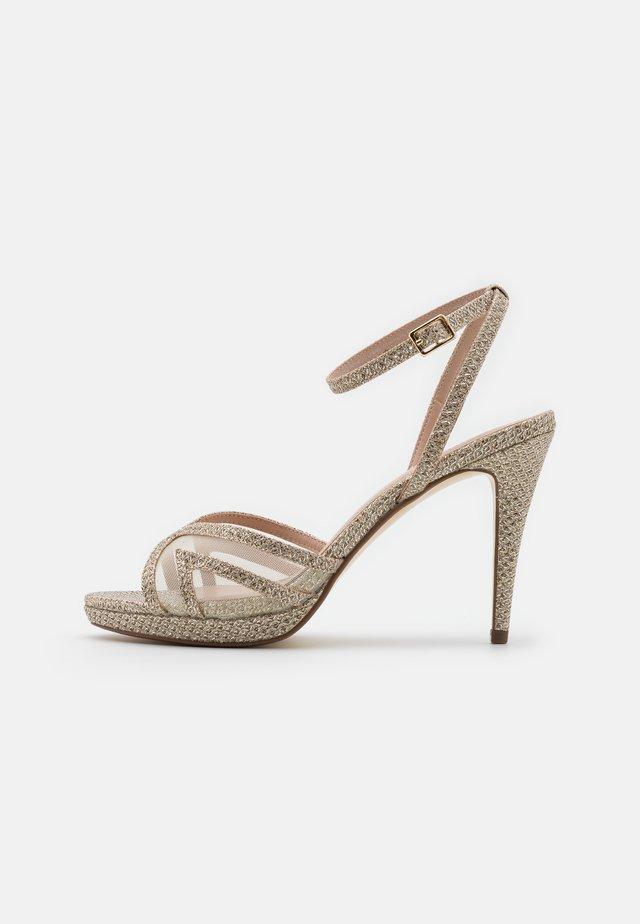 MARLAH DI - High heeled sandals - champagne