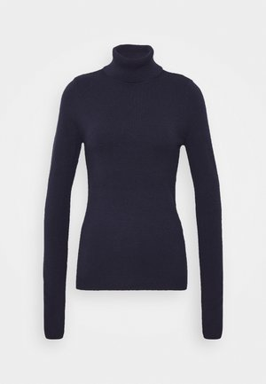 VMHAPPY BASIC ROLLNECK - Jumper - navy blazer