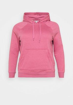 PULL ON HOODIE - Sweatshirt - raspberry