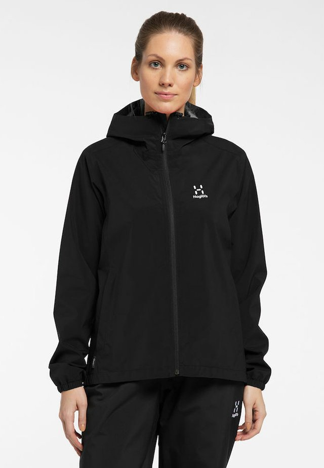 BUTEO JACKET - Hardshell jacket - true black
