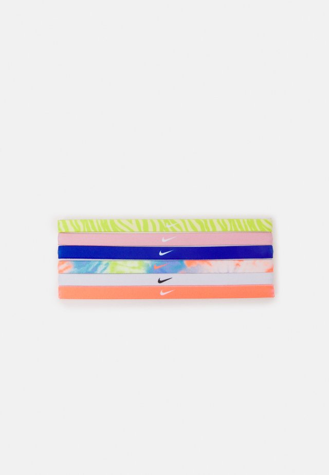 PRINTED HEADBANDS 6 PACK - Overige accessoires - white/purple pulse/bright mango