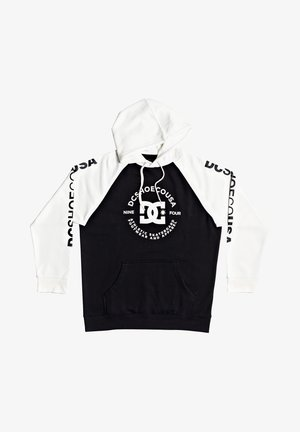 Hoodie - black/white