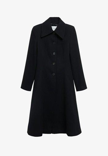 KATOENEN - Classic coat - zwart