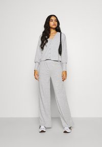 River Island - LOUNGE TROUSER - Trousers - grey - 1