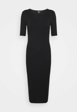 ALVA DRESS - Jumper dress - black
