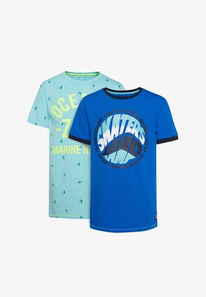 WE FASHION JONGENS 2-PACK T-SHIRT - Camiseta estampada - multi-coloured