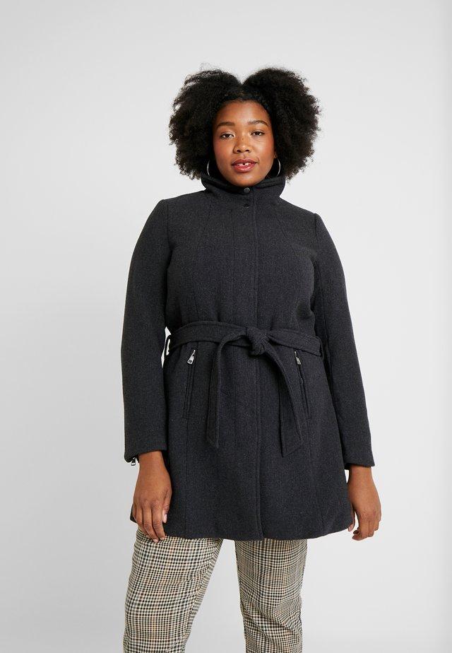 CARCHRISTIE RIANNA COAT - Abrigo corto - dark grey melange