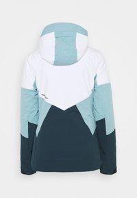 Ziener - TANSY LADY - Snowboard jacket - dark navy/white - 1