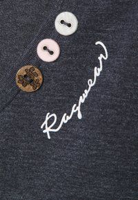 Ragwear Plus - FLORAH  - Print T-shirt - navy - 2