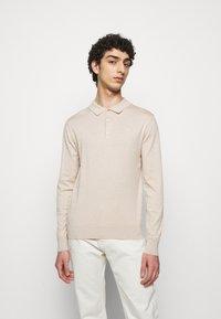 J.LINDEBERG - ROWAN - Pullover - sand/grey - 0