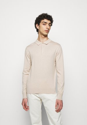 ROWAN - Jumper - sand/grey
