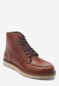 Next - APRON - Lace-up ankle boots - brown - 1