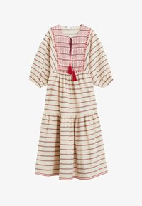 Mango - MAYA - Korte jurk - cremeweiß - 0