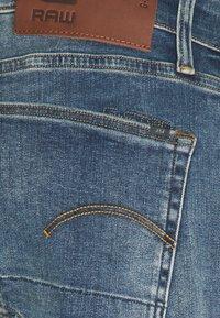 G-Star - 3301 STRAIGHT TAPERED - Straight leg jeans - vintage medium aged - 2