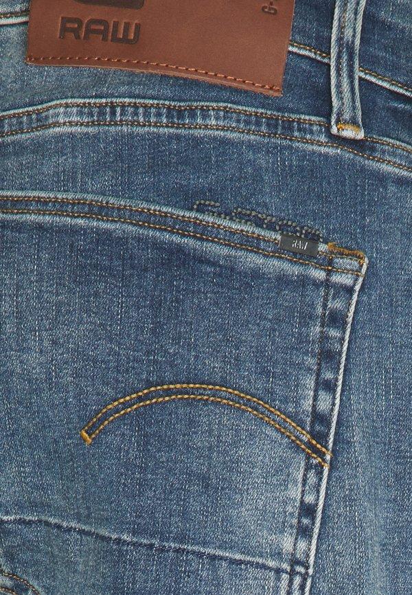 G-Star 3301 STRAIGHT TAPERED - Jeansy Straight Leg - vintage medium aged/niebieski denim Odzież Męska HBHF