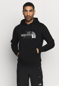 The North Face - DREW PEAK - Hoodie - black - 0