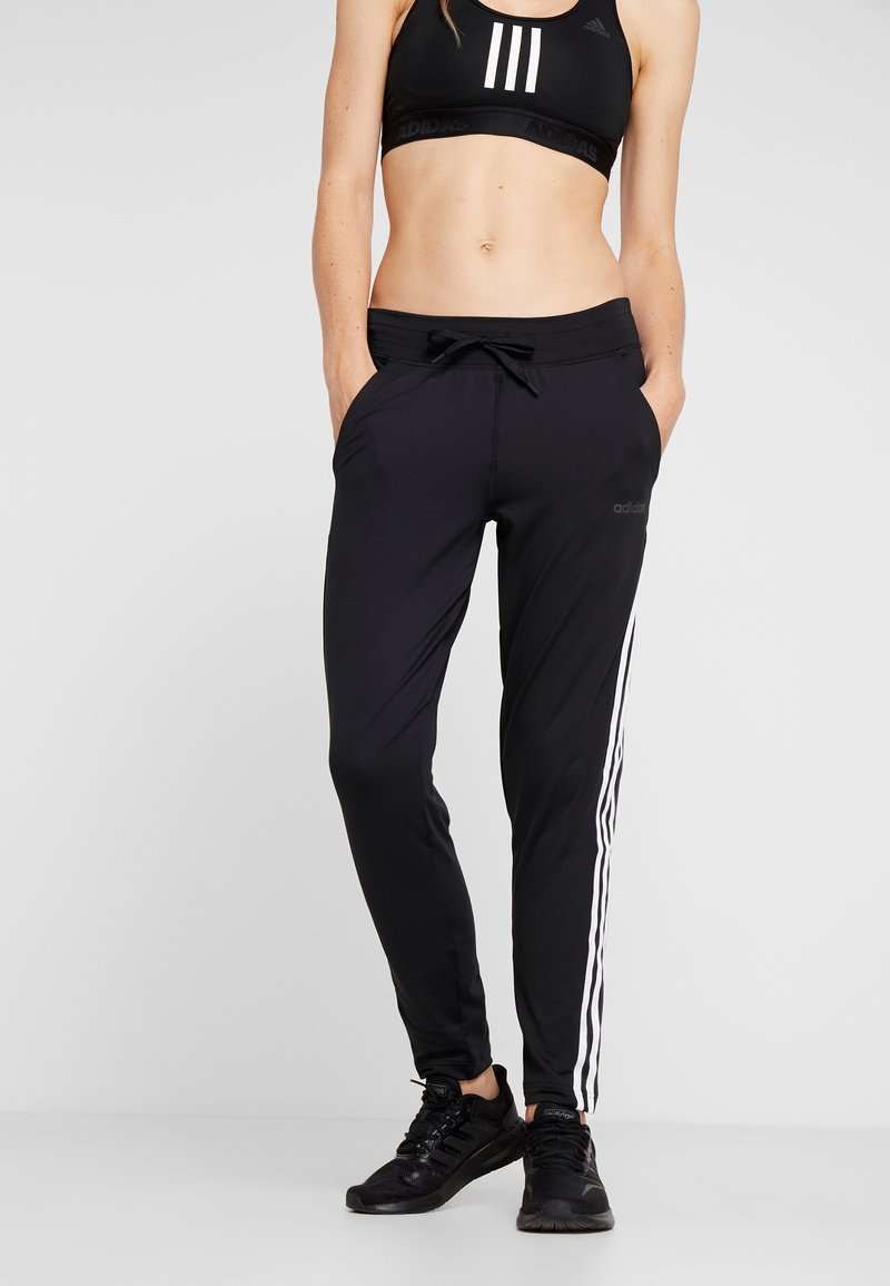 adidas Performance - D2M S F K  3S L - Tracksuit bottoms - black