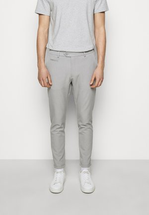 COMO LIGHT SUIT PANTS - Suit trousers - mirage grey