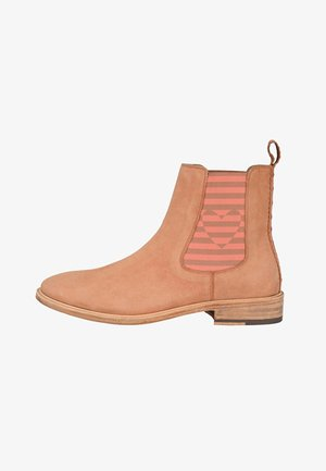 Ankle boots - orange