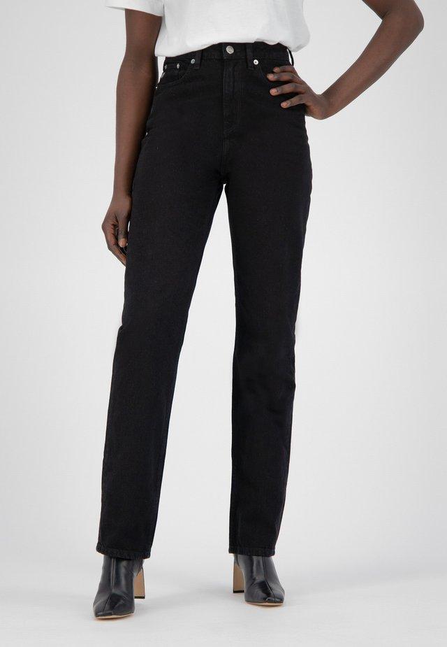 Straight leg jeans - dip black