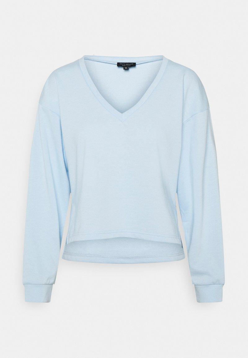South Beach Petite - V NECK - Maglietta a manica lunga - ice water