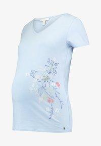 Esprit Maternity - T-shirt print - pastel blue - 4