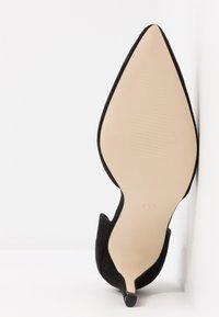 Glamorous Wide Fit - BOB - Lodičky na vysokém podpatku - black - 6