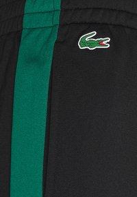 Lacoste Sport - TRACK PANT - Trainingsbroek - black/bottle green - 5