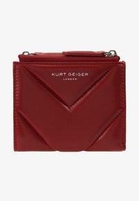 Kurt Geiger London - MINI PURSE - Peněženka - red - 1