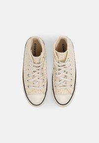 Converse - CHUCK TAYLOR ALL STAR - Zapatillas altas - egret/natural ivory/black - 5