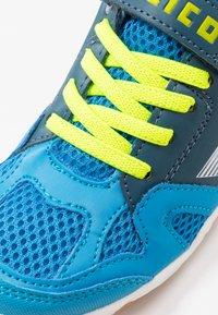 LICO - SPORT - Sneaker low - blau/marine/lemon - 2