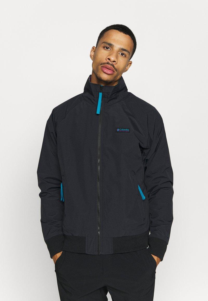 Columbia - FALMOUTH JACKET - Outdoor jacket - black/fjord blue