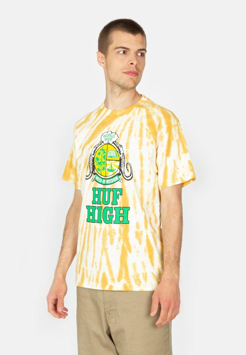 HUF - Print T-shirt - gold