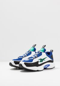 Reebok Classic - DMX SERIES 2K LIGHT BREATHABLE SHOES - Joggesko - cobalt/white/emerald - 2