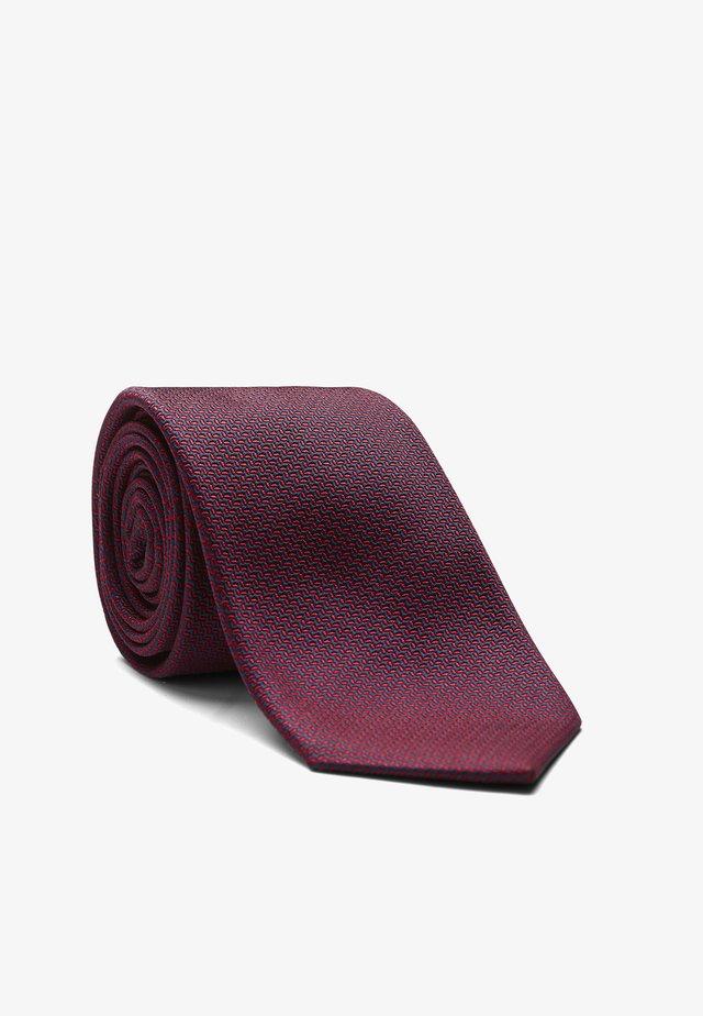 LEROY - Krawatte - rot