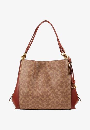 SIGNATURE DALTON  - Handbag - tan rust