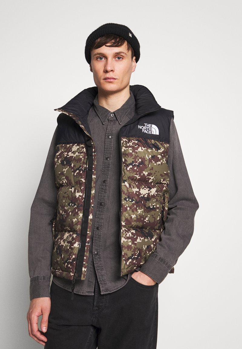 The North Face - 1996 RETRO NUPTSE VEST UNISEX - Smanicato - olive