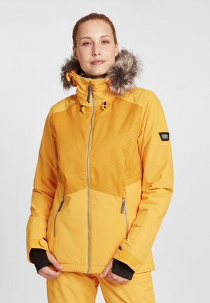 HALITE JACKET - Snowboardjas - old gold