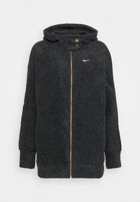 Nike Performance - COZY - Fleece jacket - black/metallic gold - 4