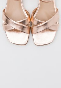 Anna Field - LEATHER - Sandals - rose gold - 5