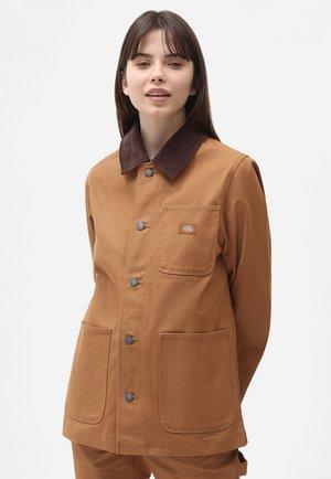 DICKIES DC CHORE  - Summer jacket - brown duck
