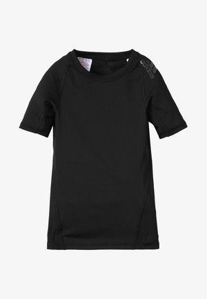 ALPHASKIN TEE - Print T-shirt - black