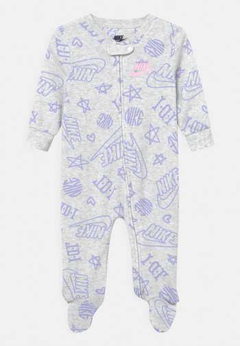 FOOTED COVERALL UNISEX - Sleep suit - birch heather