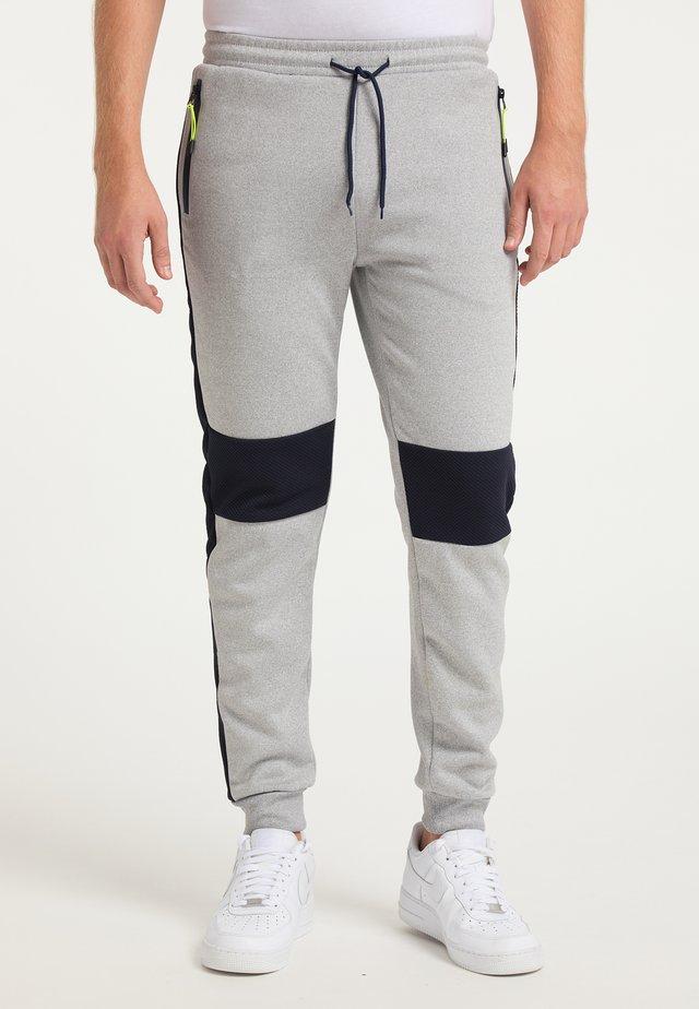 Teplákové kalhoty - hellgrau marine