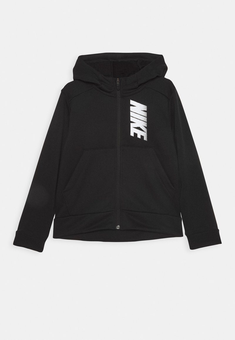 Nike Performance - Mikina na zip - black